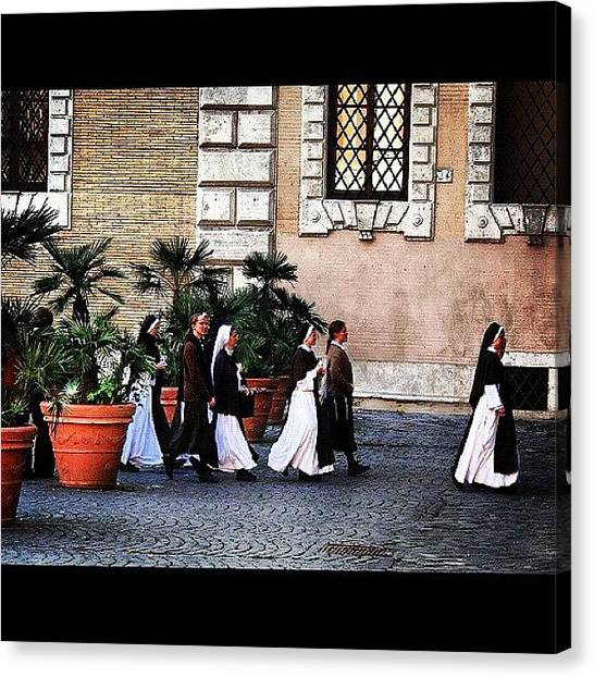Rome Canvas Print - Rome #rome #italy #instagrammers by Zsolt Bugarszki