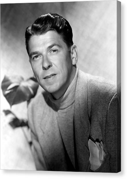 Ronald Reagan, 1950 Canvas Print by Everett