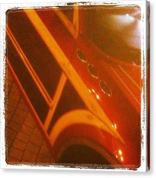 Dodge Canvas Print - #ronjon #woodie #wagon #dodge #mopar by Michael Hughes