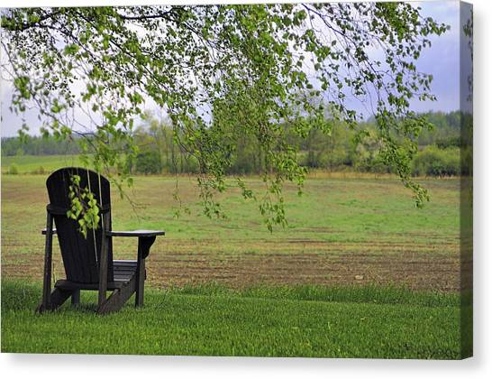 Room With A View Canvas Print by Alan Norsworthy