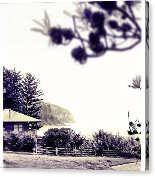 Saints Canvas Print - Room With A View #iphoneography by Kendall Saint