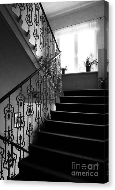 Stairs Canvas Print - Room With A View by Linda Woods