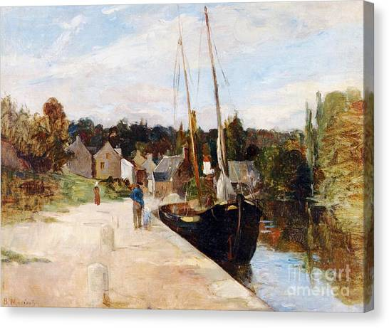 67 Canvas Print - Rosbras In Brittany by Berthe Morisot
