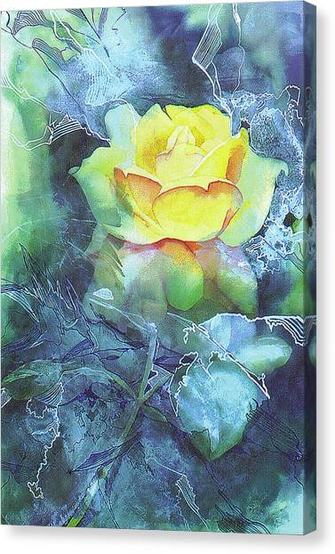 Rose Canvas Print by Eunice Olson