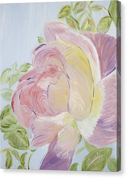 Rose Canvas Print by Leona Bushman
