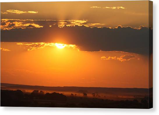 Canvas Print - Rosebud Sunset by Larry Robinson