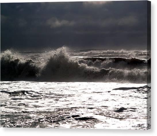 Rough Waves 2 Canvas Print