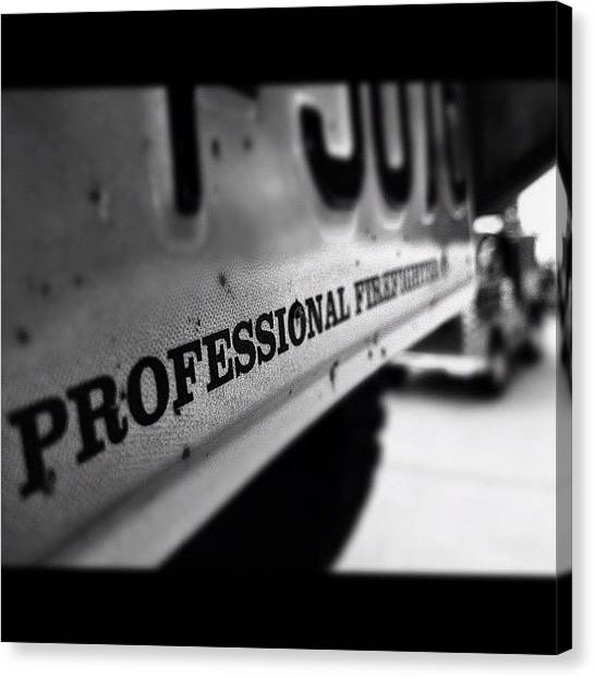 Firefighters Canvas Print - @rubicontaxi @brieannakelly_ru by James Crawshaw