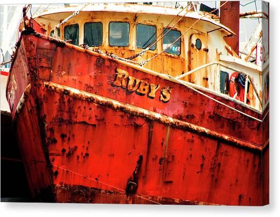 Rubys Canvas Print