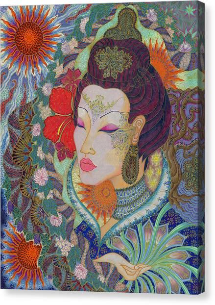 Ruhen Canvas Print