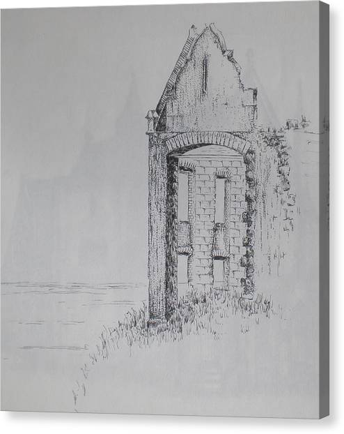 Ruin Canvas Print