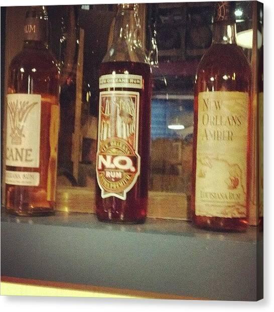 Distillery Canvas Print - #rum #distillery #neworleans #nola by Dustin Klinedinst