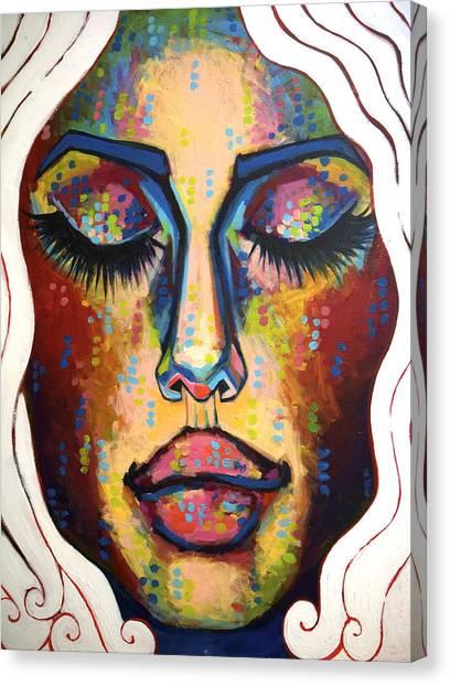 Running Through My Mind Canvas Print by Erica Shaw