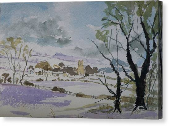 Rural Parish Canvas Print