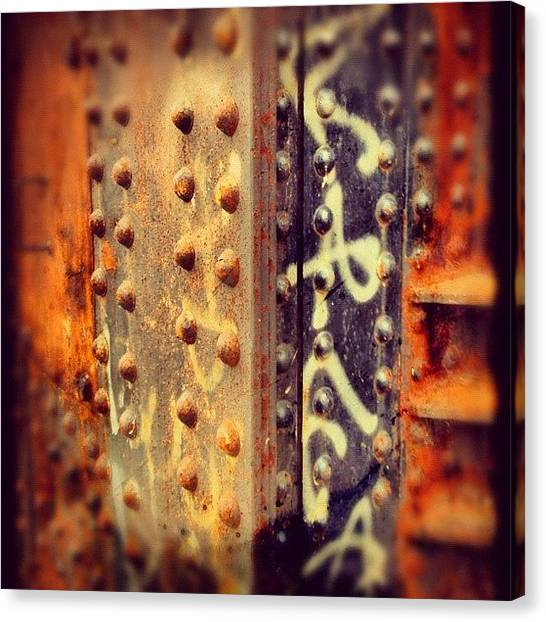 Metallic Canvas Print - Rust by Isabel Poulin