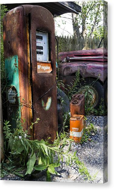 Rust Never Sleeps 2 Canvas Print by Peter Chilelli
