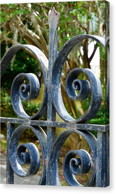 Rusted Charleston Ironwork Canvas Print