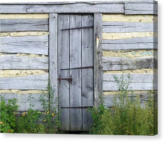 Rustic Door Canvas Print