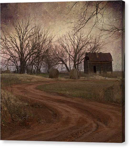 Rustic Shack Canvas Print