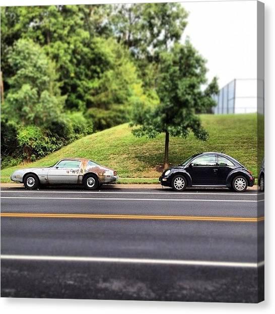 Volkswagen Canvas Print - #rusty #firebird Is Always #waiting by Simon Prickett