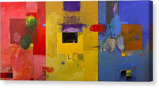 Ryb Triptych  Canvas Print