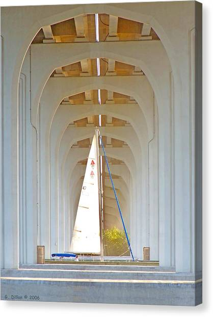 Sailboat Sanctuary Canvas Print