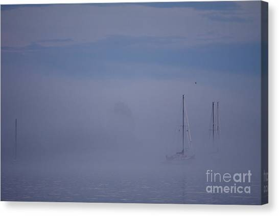 Sailing Mysterious Lake Superior Canvas Print