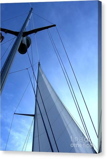 Sailing01 Canvas Print