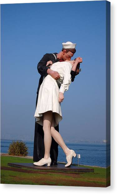 Sailor's Kiss Canvas Print