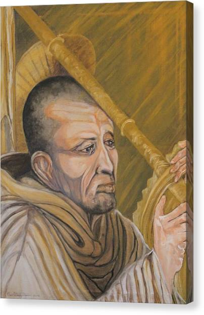 Saint Bernard Of Clairveaux Canvas Print