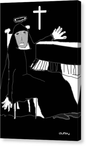 Saint Cecelia Canvas Print