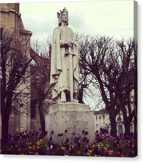 Saints Canvas Print - #saint Louis, #roi De #france. Né à by Ibo Obi