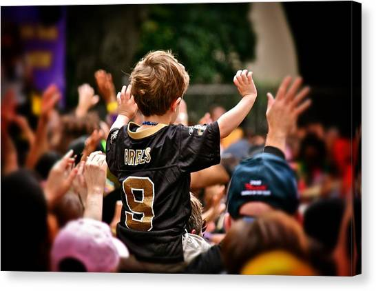 Saints Boy Canvas Print
