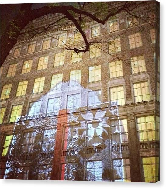 Irises Canvas Print - #saks #iris #yeti #holidays #nyc by Mark Walter