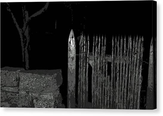 Midnite Canvas Print - Salem Noir I by Mike Greco