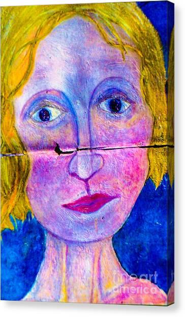 Sally Canvas Print by Bill Davis