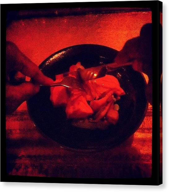 Punk Canvas Print - Salmon Kasukue At Sei.  Spicy Miso by Prepster Punk