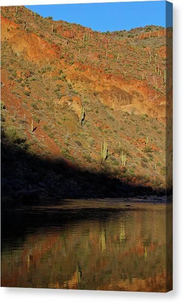 Salt River Sunset Canvas Print