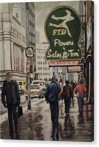 Salvy And Tom Canvas Print