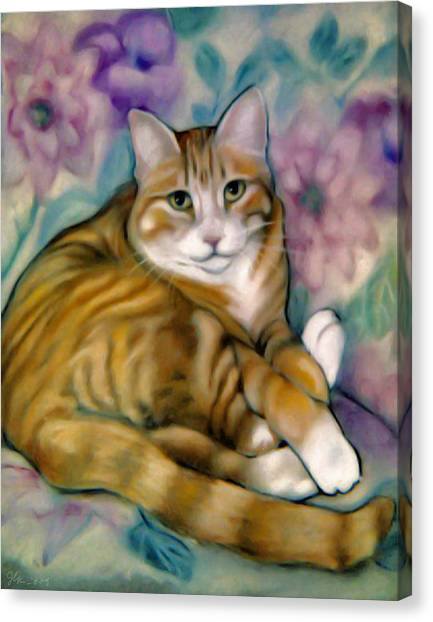 SAM Canvas Print by Janet Kearns