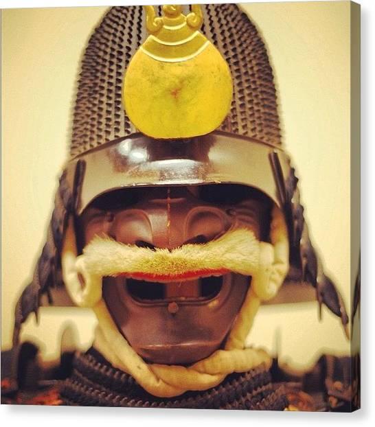 Samurai Canvas Print - #samuraiarmour #samurai #armour by 🅿💀r1⃣©⚠◀ Qu1⃣5⃣p3⃣l