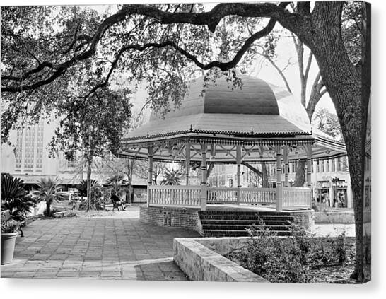 San Antonio Bandstand II Canvas Print