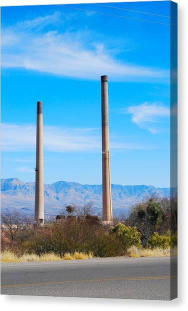 San Manuel 2 Canvas Print by T C Brown