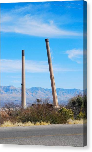 San Manuel 6 Canvas Print by T C Brown