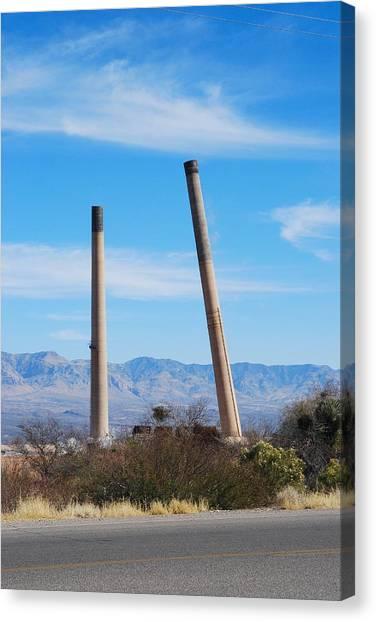 San Manuel 7 Canvas Print by T C Brown