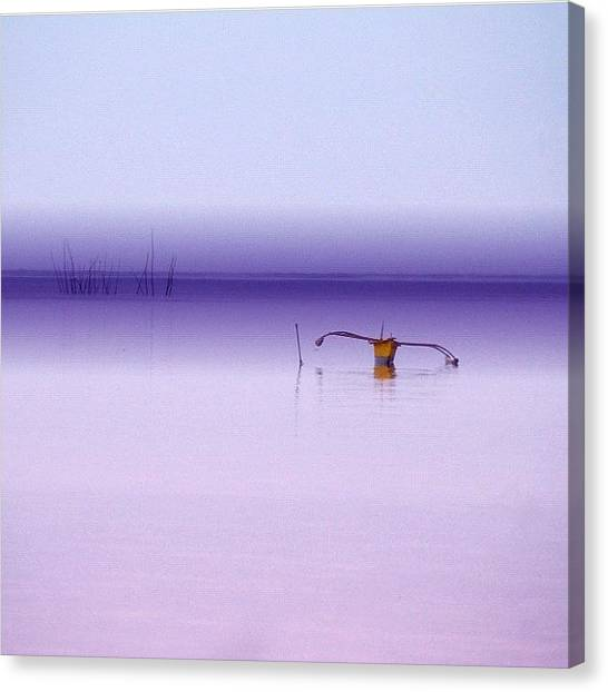 Fishing Boats Canvas Print - San Remigio_cebu by Jay Delavin