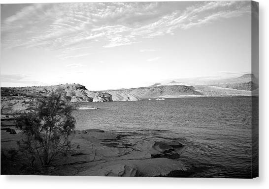 Mojave Desert Canvas Print - Sand Hollow River by Gilbert Artiaga