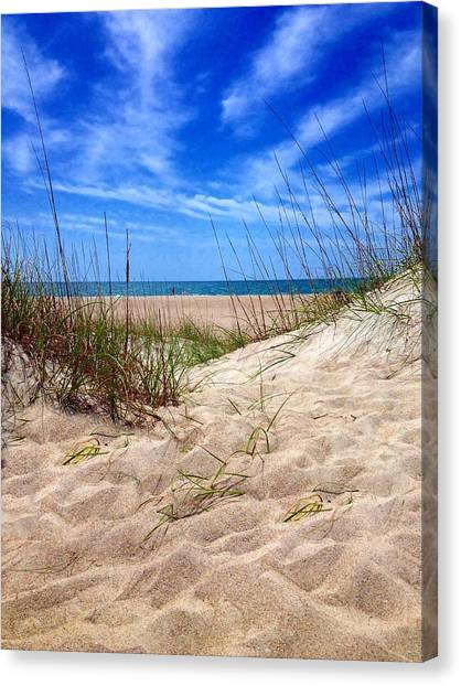 Sandy Dunes Canvas Print