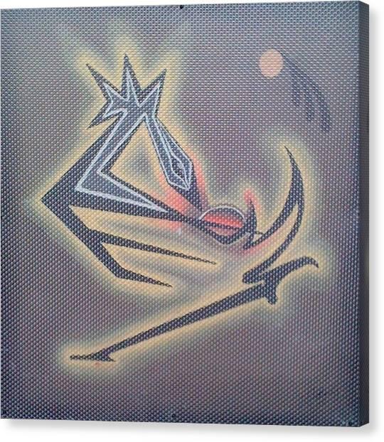 Sankofa 2011 Canvas Print by Clyde Stallworth Jr