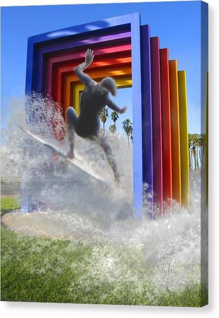 Santa Barbara Dream 1 Canvas Print